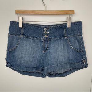 🎁4/20$🎁 vintage Guess jean shorts